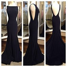 Pd604054 Charming Prom Dress,Sabrina Prom Dress,Backless Prom Dress,Chiffon Prom Dress,Mermaid Evening Dress