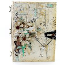 Altered faux box book
