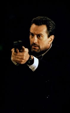 Robert De Niro in Heat (1996), one of the finest movies ever made and still my all-time fave movie ever.