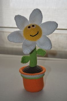 Maceta con flor