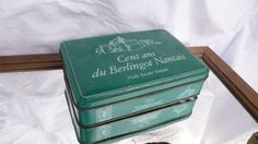 Green Shabby Chic Tin Rustic Vintage French Green Rustic
