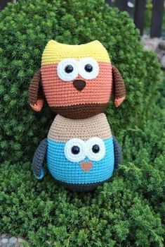 Háčkovaná Sovička – Jak háčkovat Hello Kitty, Crochet Hats, Character, Crochet Dolls, Amigurumi, Knitting Hats, Lettering