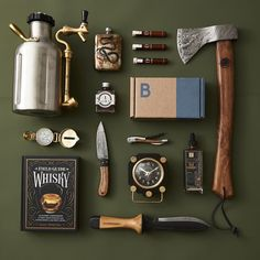 Camping Must Haves Discover Bespoke Post Limited Time Deal Off Your First Box! Save off your first box from Bespoke Post with our limited time deal! Survival Tools, Camping Survival, Survival Equipment, Camping Equipment, Materiel Camping, Camping Must Haves, Bushcraft Kit, Cool Gadgets To Buy, Cool Inventions