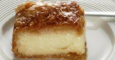 Γαλακτομπούρεκο με κρέμα γάλακτος Greek Sweets, Greek Desserts, Greek Recipes, Sugar Love, Cake Day, Confectionery, Food Processor Recipes, Deserts, Vanilla