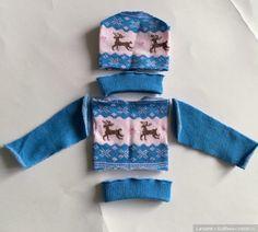 По многочисленным просьбам начинаю публиковать свои мастер-классы по шитью нарядов для кукол из носков. Тем более, что мои МК с
