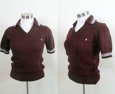 Burgundy Pullover Bodycon Sweater Etienne by rileybellavintage, $20.00
