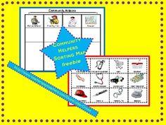 Community Helpers and Tools Sorting Map