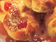 Joulukranssi ja sahramipullat - Reseptit