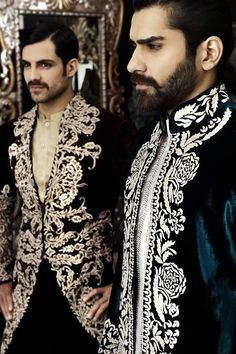 Beards and embroidery.