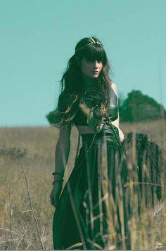 Gypsy Boho Girl.