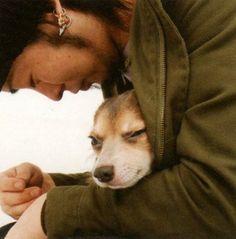 Zy.32 2007年0102月号 「ムック ミヤ -受容と包容」  Miya(MUCC)&Gizmo(Miya's Dog)