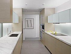 On la simplicité de ce marbre   Statuario Application, the Kitchen Countertop Design_Stone Appreciation_Stonexp