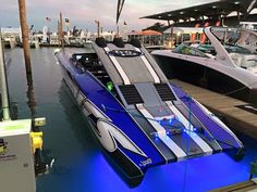 Outerlimits SL50 looking great at the Miami Boat Show! - Photo from Michael Knoblock