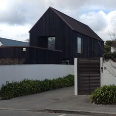 Peacock Street, Chch. Architect unknown Auckland, Cladding, Peacock, Garage Doors, Shed, Exterior, Outdoor Structures, Street, Outdoor Decor