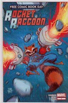 ROCKET RACCOON 1 VOL 3 IAN McGINTY FRIED PIE VARIANT NM