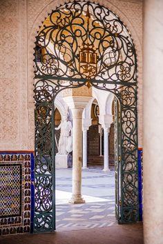 Entrance Casa de Pilatos, Seville, Spain - Bold Bliss