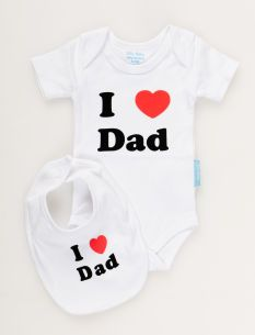 NEW NWT GAP babyGap Long Sleeve T-Shirt  I Heart Love Daddy So Cute *B1