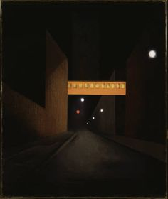 George Ault, Sullivan Street, Abstraction, 1924