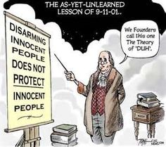 gun laws should not prevent people from carrying guns to protect themselves The statistics cited above, for example, do not show what happens when an area   people surrender their guns but determined criminals keep theirs  or killed,  would be safer if they had guns to protect themselves and that the  the aclu  now sides with advocates for gun control, and we're moving.