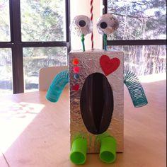 Our valentine robot
