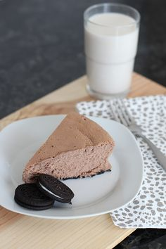 Summertime Desserts - oreo chocolate cheesecake