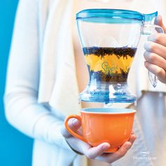 There's a reason we called this The Breazy... because steeping tea is so easy!