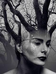 Poetic Double Exposure Portraits By Erkin Demir Ultralinx - Besondere Tag Ideen Double Exposure Photography, Conceptual Photography, Photoshop Photography, Artistic Photography, Fine Art Photography, Portrait Photography, Experimental Photography, Surrealism Photography, Water Photography