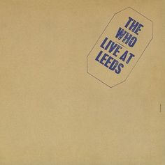 The Who-Live At Leeds