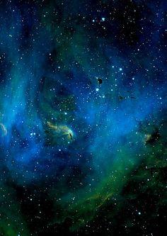 The Running Chicken Nebula in the constellation Centaurus