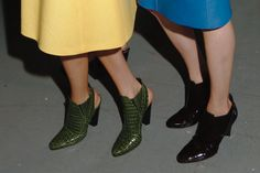 Top 20 Shoes From NYFW: 3. Derek Lam    Want those green ones