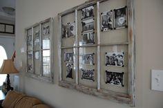 wir haben schöne alte Fenster! wäre eine gute Idee für den Flur