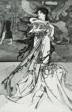 Alphonse Mucha  c1898