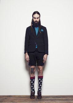 Elisa Rivera S/S 2015 - Eduardo Rivera - Tienda Online Outfit Man, Fashion Moda, Menswear, Hipster, Punk, Blazer, My Love, Jackets, How To Wear