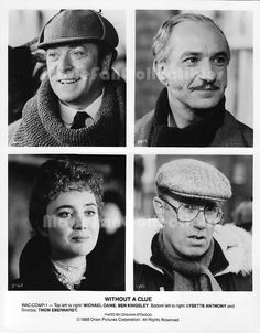 Without A Clue photo stars Michael Caine Ben Kingsley Lysette Anthony