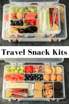 [AD] Make traveling easier! Try these easy DIY road trip snack box kit ideas for. [AD] Make traveling easier! Try these easy DIY road trip snack box kit ideas for kids, toddlers, te Easy Snacks For Kids, Kids Meals, Diy Snacks, Camping Meals, Healthy Beach Snacks, Healthy Snacks For Traveling, Snacks For Beach, Travel Snacks Kids, Snacks For Boating