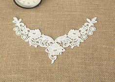 Lace TrimLace Collar Bride Wedding AppliqueCotton by hitomigift