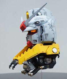 [RESIN] 1/35 RX-787-2 First Gundam HEAD | Daum 루리웹