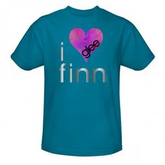 Glee I Heart Finn T-shirt@Sam Boland