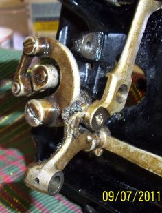 My Sewing Machine Obsession: How to service and clean a Singer 66... the hook