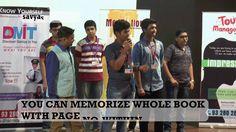 Demo After Dharmesh Pithva's Memory Improvement Training By Monil Mumbai...