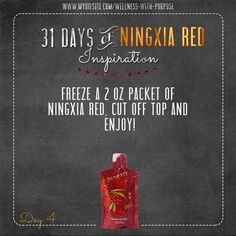 A great treat for any day! #NingXiaRed  ORDER HERE: www.NextGenCounseling.com/Young-Living-Oils-for-Wholesale-Prices