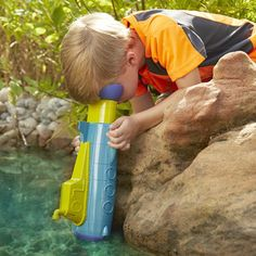 Take this fun SubScope on your next trip to the beach or lake! This supports STEM learning and lets children explore. Cool Pool Toys for Entertainment and Education
