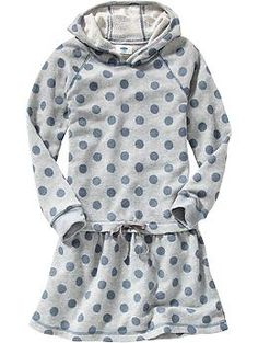Kendall or gabby- Girls Hooded Terry-Fleece Dresses   Old Navy