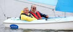 Dave Moorcroft visited WASH Sailability project in Suffolk as part of the BT All Join In Week
