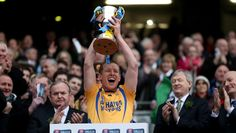 Portumna captain Ollie Canning lift's the cup 17/3/2014