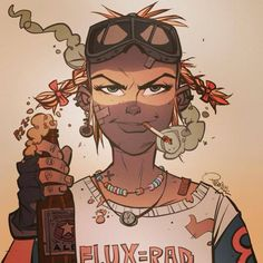 """""""Tank god it's Friday!! Have you pledged yet?? Our 21st Century Tank Girl Kickstarter is now over £105,000 and is the 14th most successful kickstarter comic book ever! And still 19 more days to go!..."""