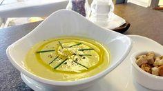 Supa crema de broccoli si sparanghel
