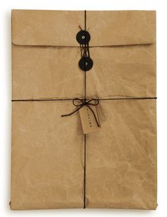 brown paper wrap