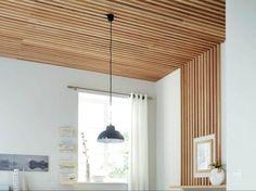 Comment réaliser un plafond en tasseaux ? | Leroy Merlin