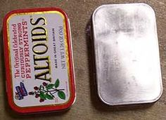 Hmmmm... never heard of using oven cleaner to prep tins.  Something to check out!  http://gomakesomething.com/ht/metal/prepping-tins/#  Go Make Something » Prepping Tins For Altering